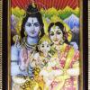 Photo - God and Goddess - Shiv, Parbati, Ganesh